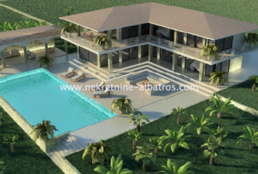 Hvar, land with a project for the construction 50 villas