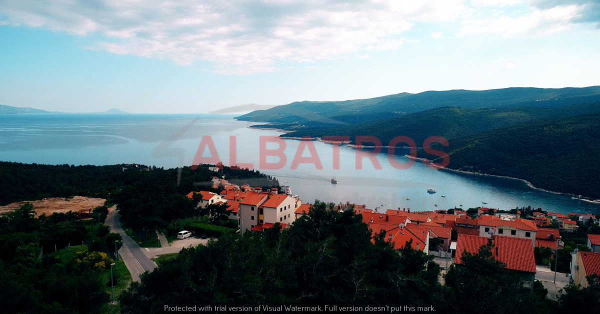 Rabac, ¸two lads for construction on sale, sea view