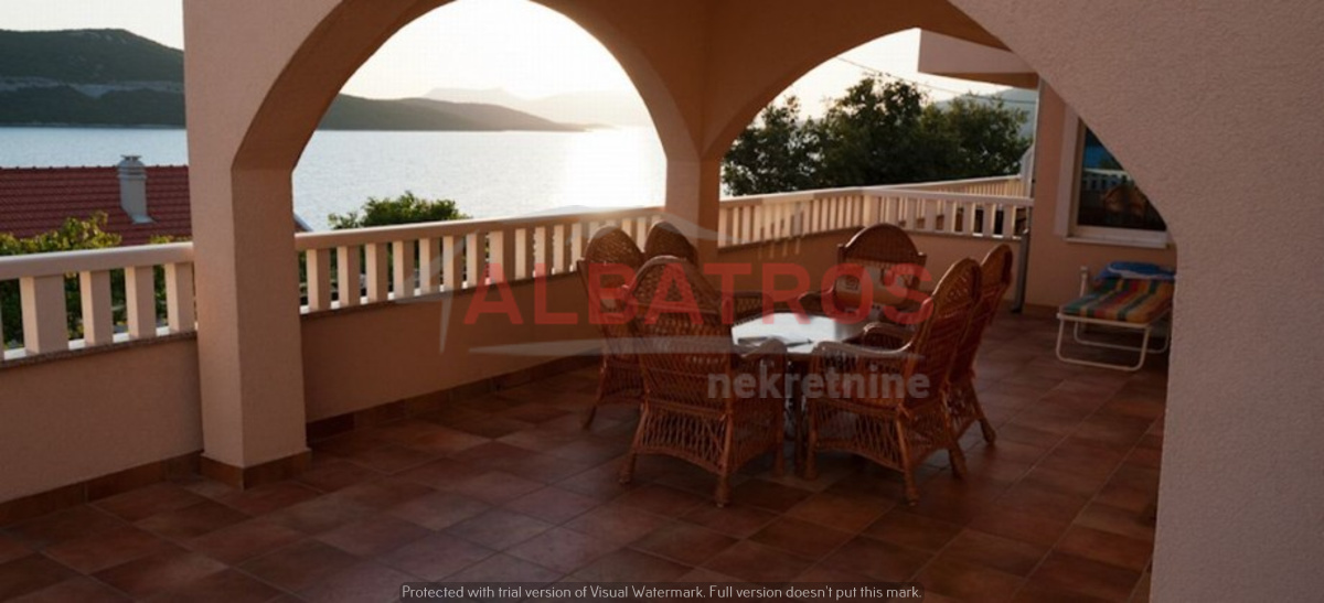 Neum, Large villa with a beautiful view of the sea