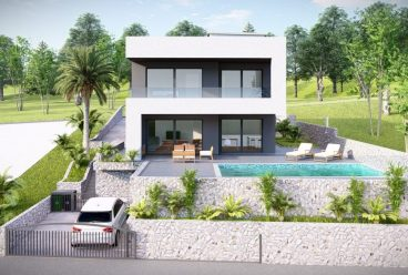 Land in Zivogosce with open sea view